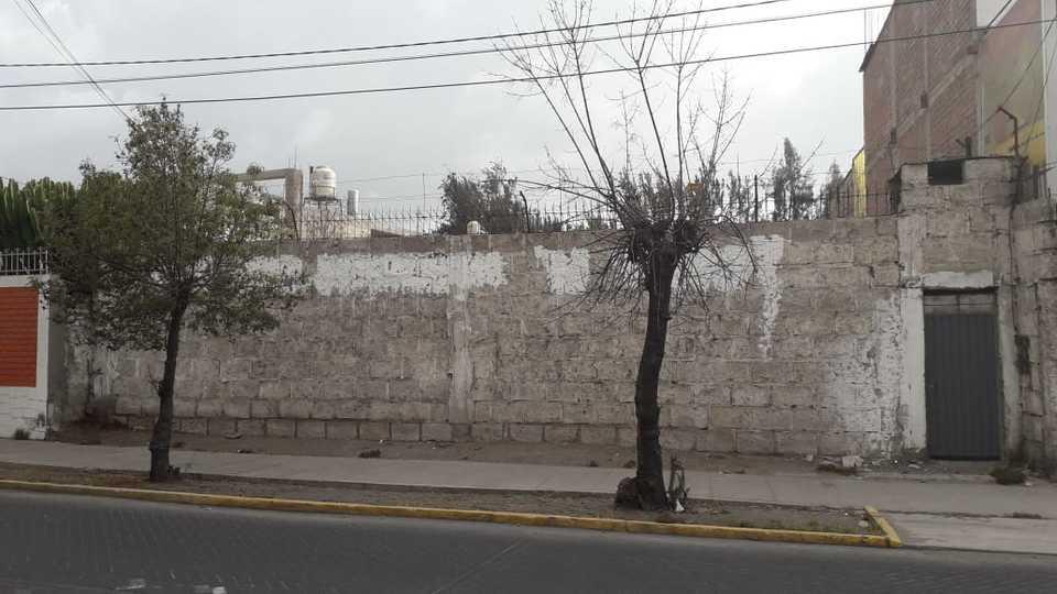 Venta de Terreno en Arequipa 393m2 area total estado Entrega inmediata