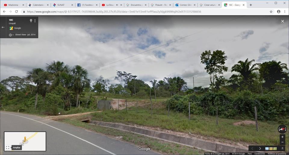 Venta de Terreno en Campoverde, Ucayali 540000m2 area total