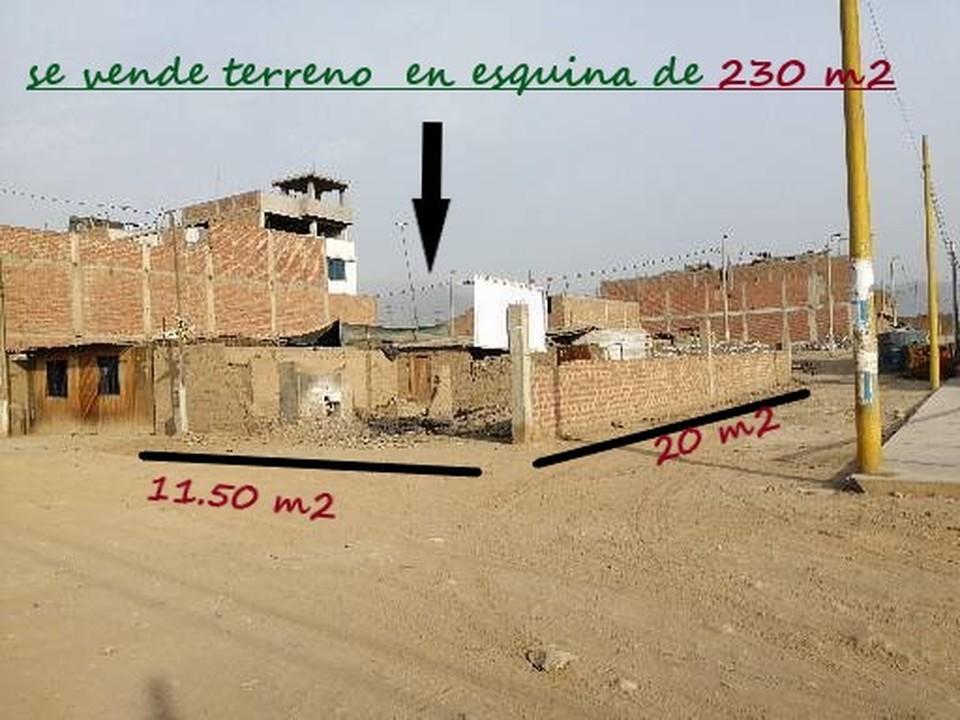 Venta de Terreno en Carabayllo, Lima 230m2 area total