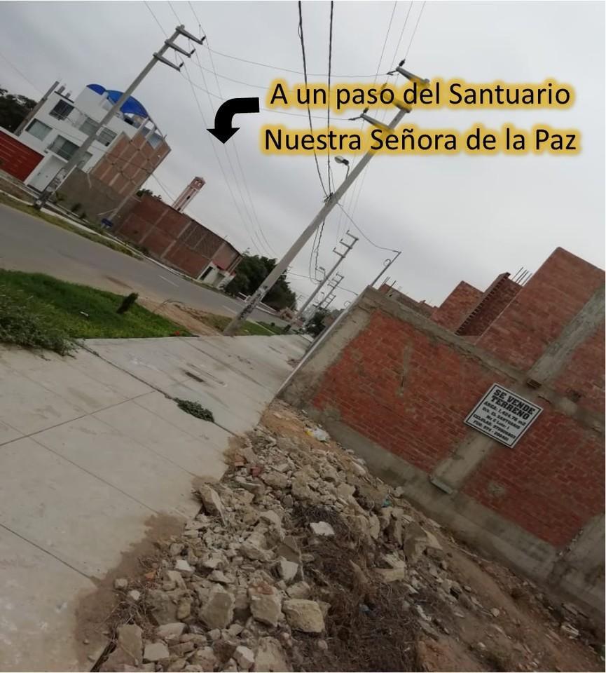 Venta de Terreno en Chiclayo, Lambayeque 150m2 area total
