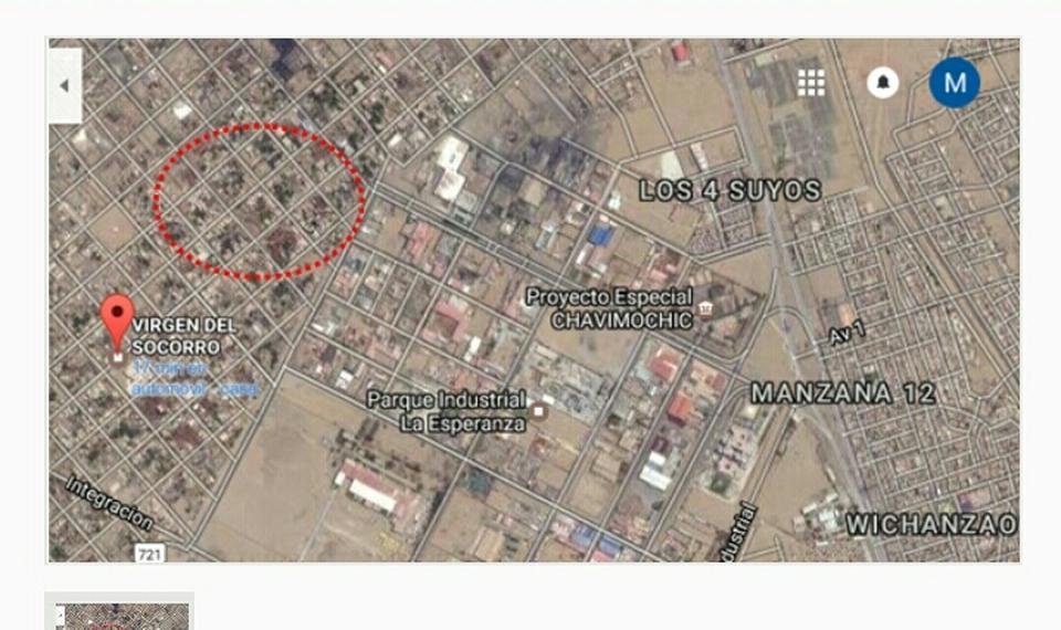 Venta de Terreno en Trujillo, La Libertad 132m2 area total