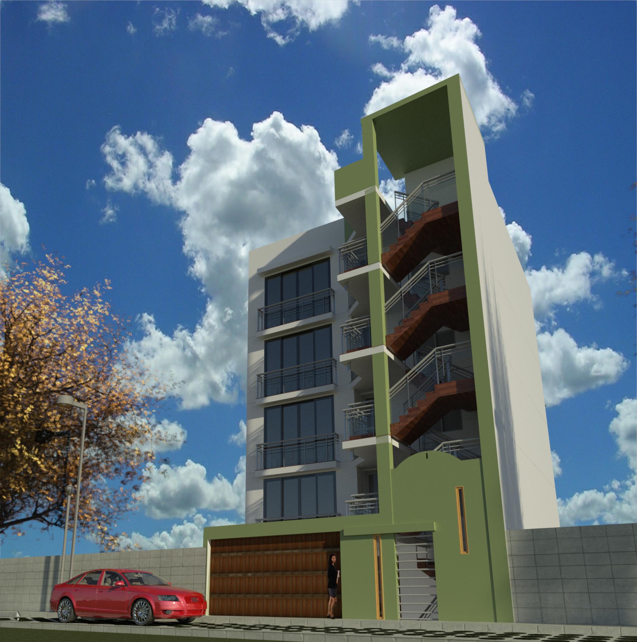 Venta de Departamento en Paucarpata, Arequipa con 2 baños - vista principal