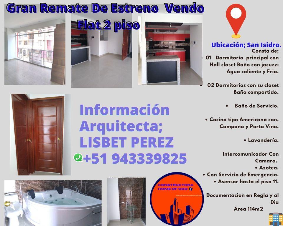 Venta de Departamento en Trujillo, La Libertad con 1 estacionamiento