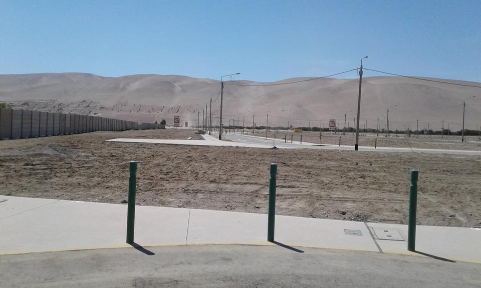 Venta de Terreno en Tacna 110m2 area total estado Entrega inmediata