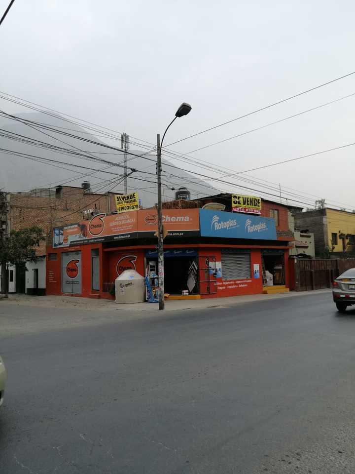 Venta de Local en Chaclacayo, Lima - vista principal