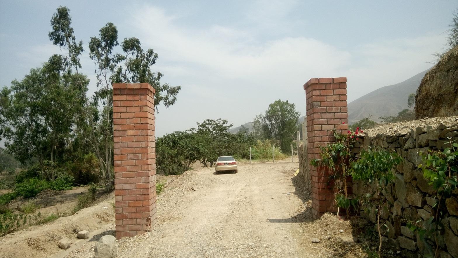 Venta de Terreno en Pachacamac, Lima 500m2 area total - vista principal