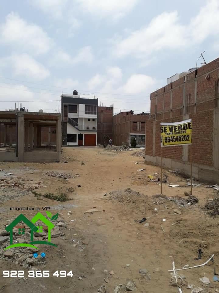 Venta de Terreno en Trujillo, La Libertad 120m2 area total