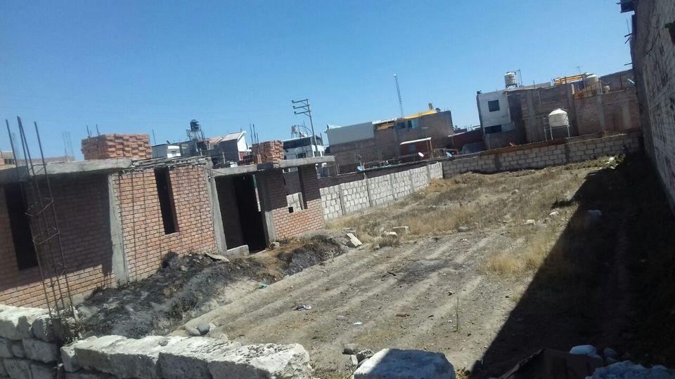 Venta de Terreno en Tiabaya, Arequipa 690m2 area total - vista principal