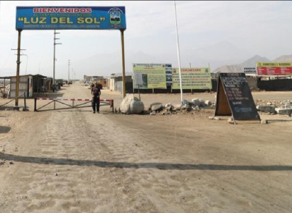 Venta de Terreno en Trujillo, La Libertad 500m2 area total