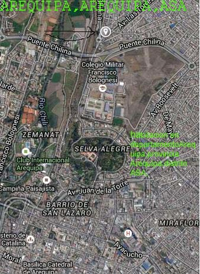 Alquiler de Habitación en Alto Selva Alegre, Arequipa con 1 baño