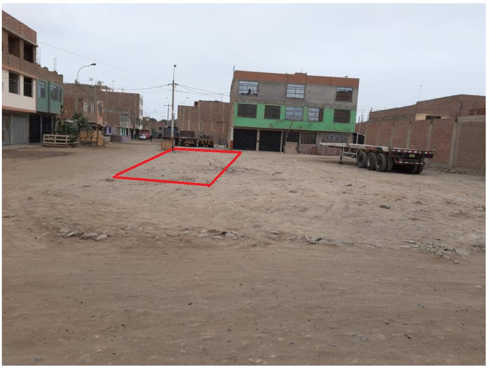 Venta de Terreno en Callao 75m2 area total estado Preventa