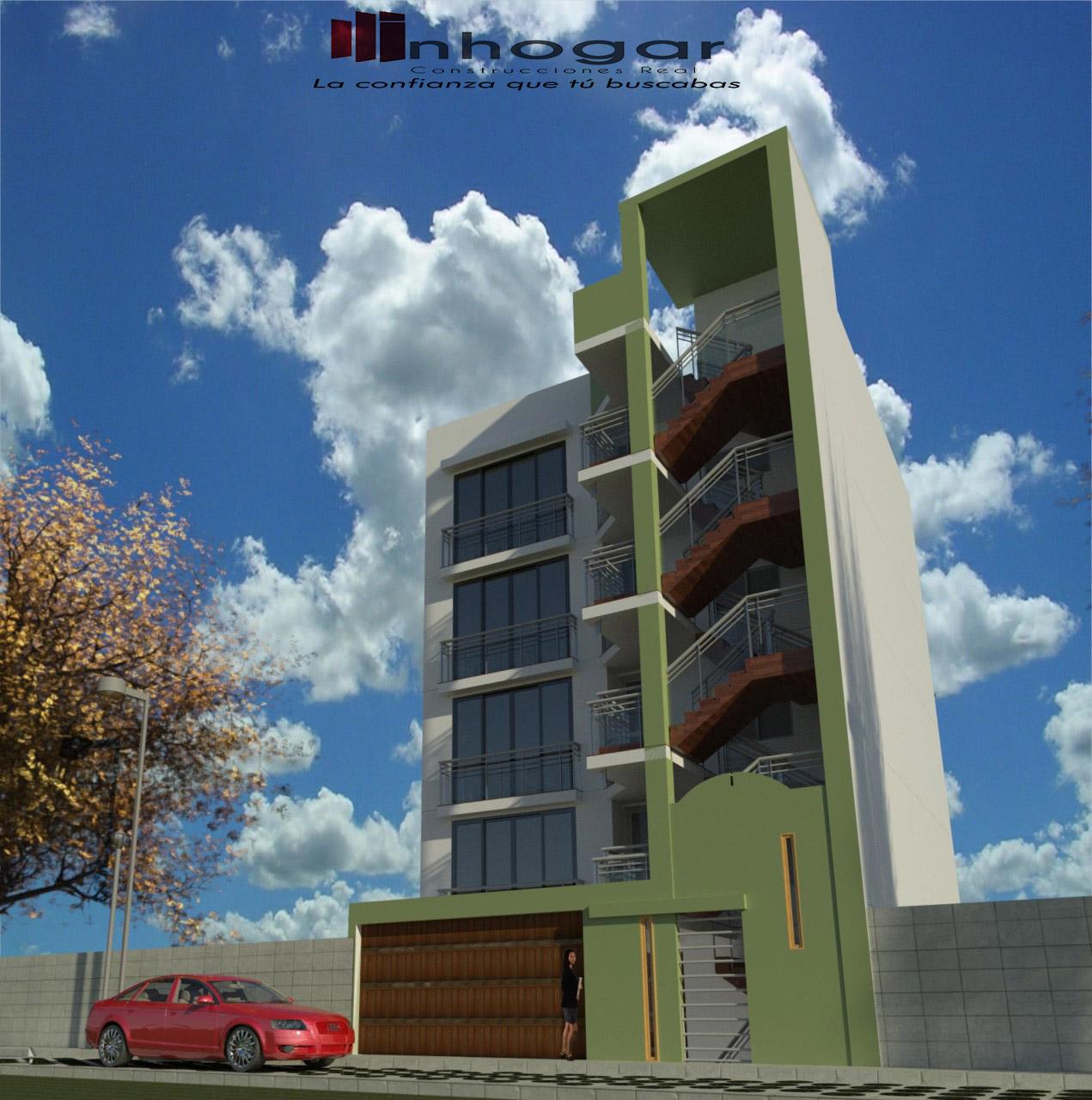 Venta de Departamento en Arequipa con 1 baño con 1 estacionamiento - vista principal