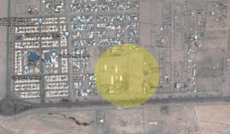 Venta de Terreno en Tacna 15000m2 area total estado Entrega inmediata