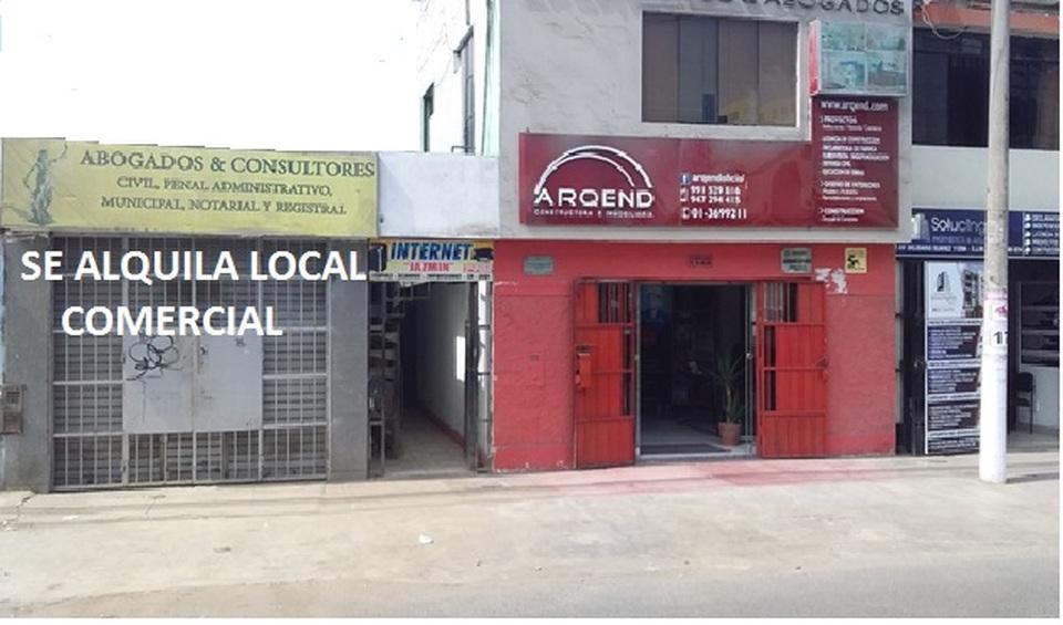 Alquiler de Local en San Juan De Miraflores, Lima con 2 baños