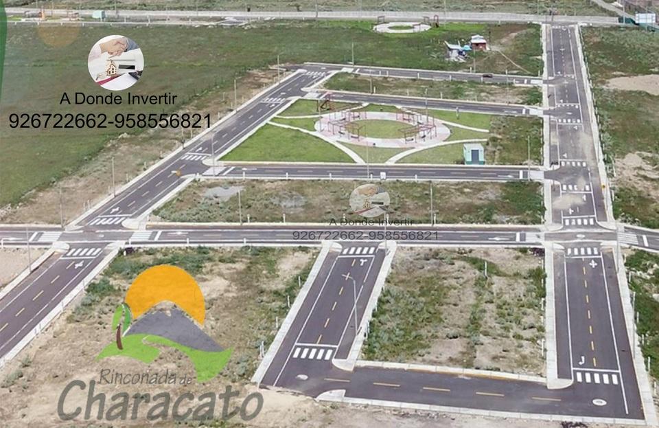 Venta de Terreno en Characato, Arequipa 90m2 area total