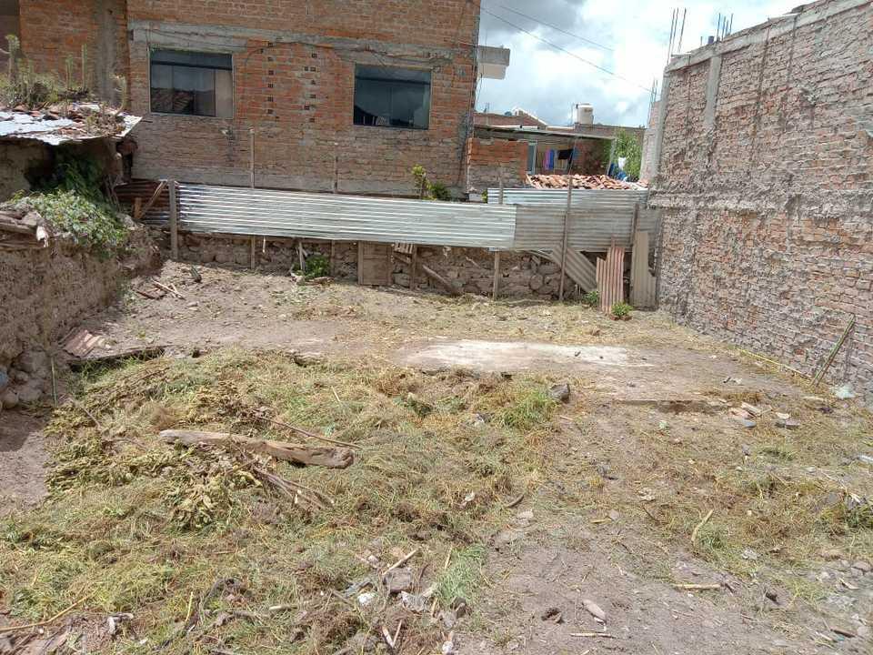 Venta de Terreno en Ayacucho 107m2 area total - vista principal