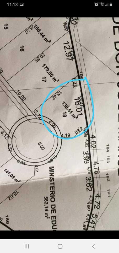 Venta de Terreno en Arequipa 130m2 area total estado Preventa