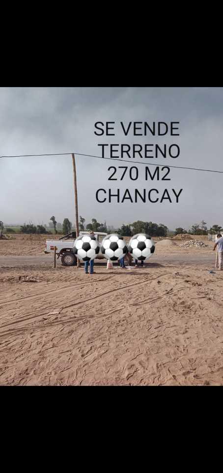 Venta de Terreno en Chancay, Lima 270m2 area total