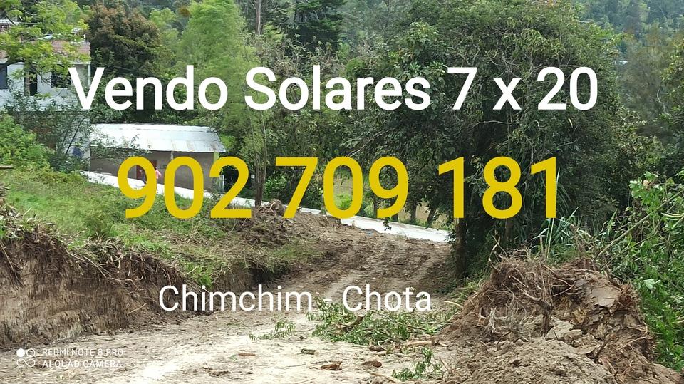 Venta de Terreno en Chota, Cajamarca 140m2 area total