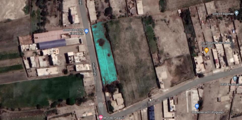 Venta de Terreno en Hualmay, Lima 134m2 area total