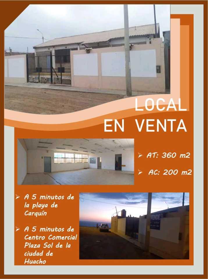 Venta de Local en Caleta De Carquin, Lima - vista principal