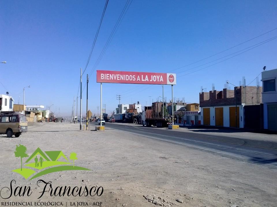 Venta de Terreno en La Joya, Arequipa - vista principal
