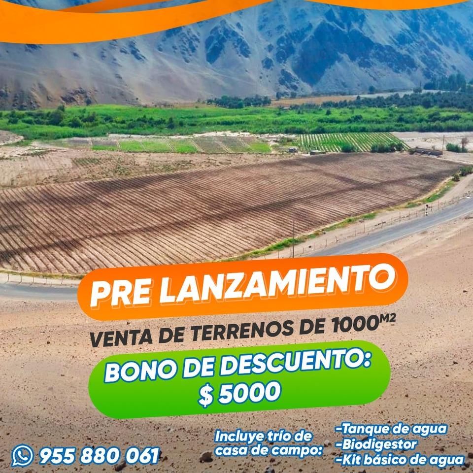Venta de Terreno en El Algarrobal, Moquegua - vista principal