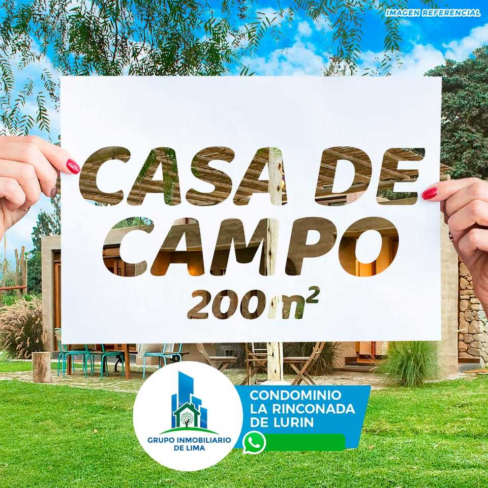 Venta de Terreno en Lurin, Lima 200m2 area total