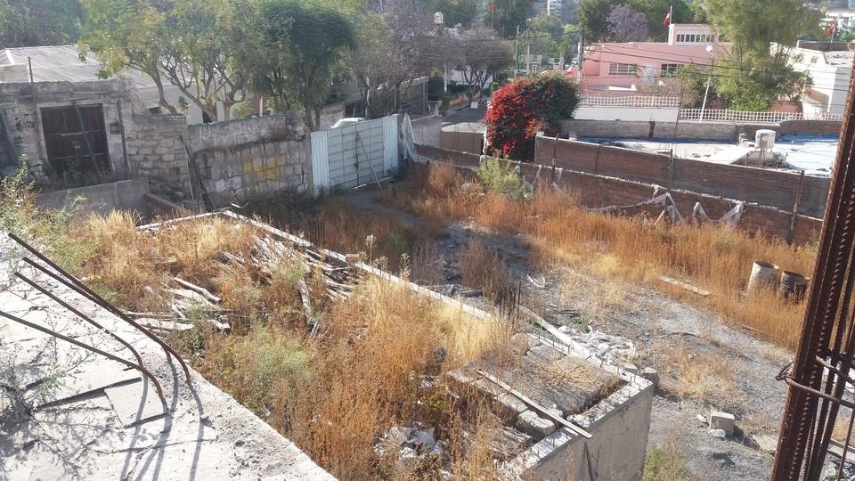 Venta de Terreno en Yanahuara, Arequipa 1101m2 area total - vista principal