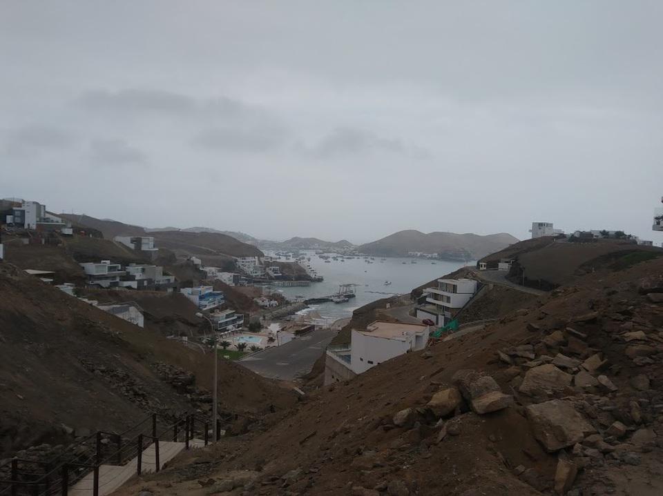 Venta de Terreno en Pucusana, Lima 553m2 area total - vista principal