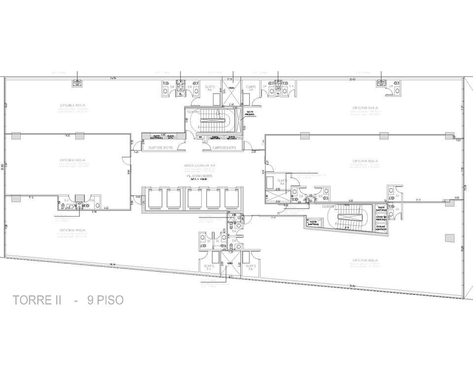 Alquiler de Oficina en Santiago De Surco, Lima con 2 baños - vista principal
