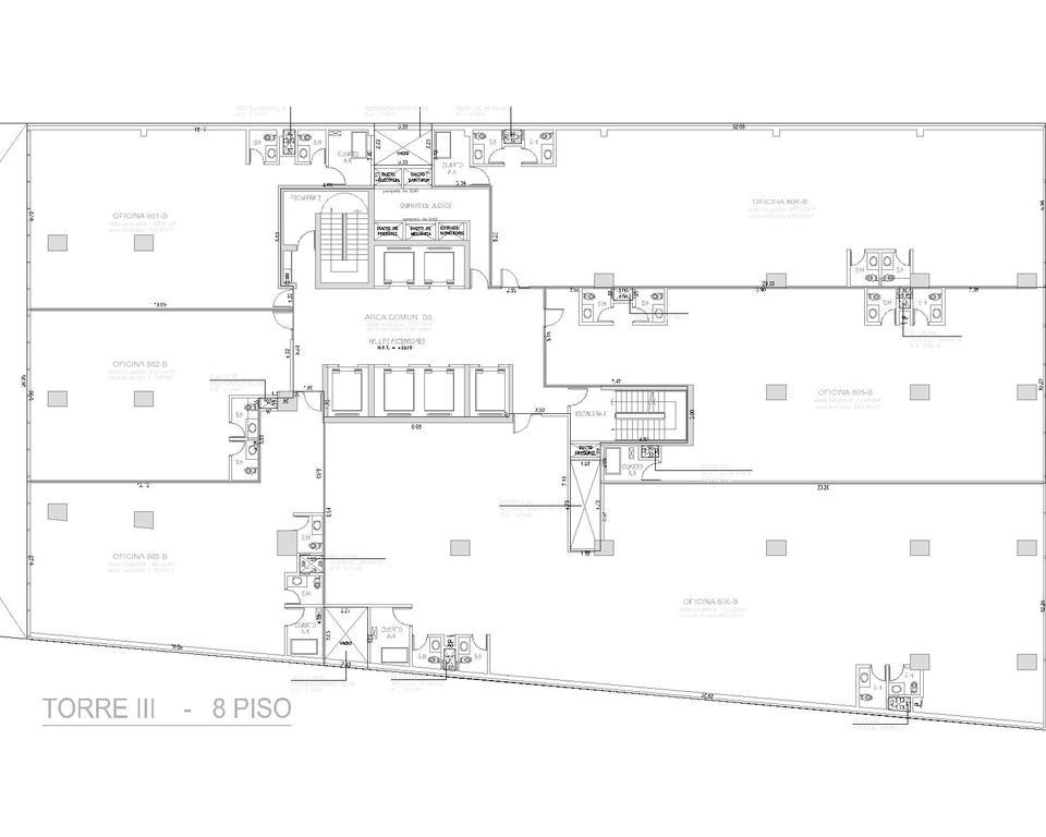Alquiler de Oficina en Santiago De Surco, Lima con 4 baños - vista principal
