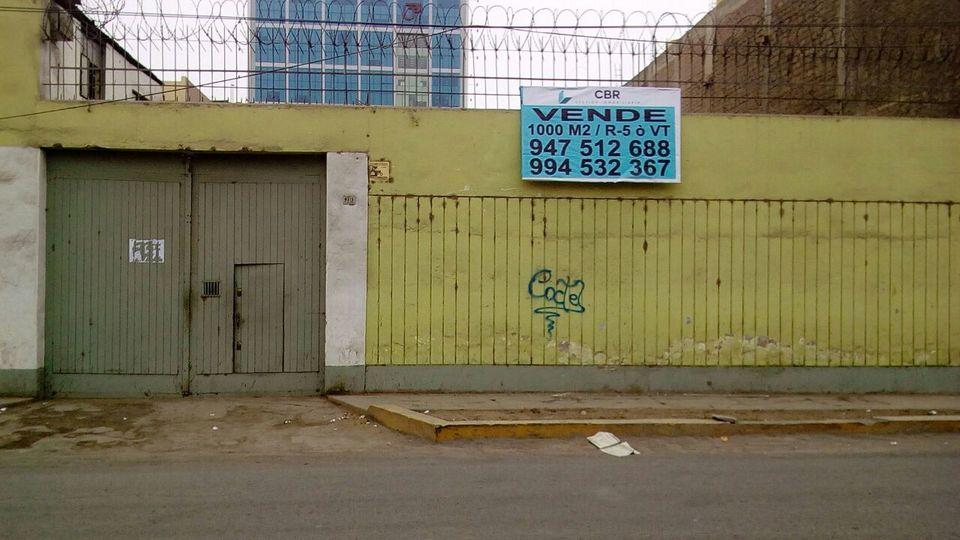 Venta de Terreno en San Martin De Porres, Lima 1003m2 area total - vista principal