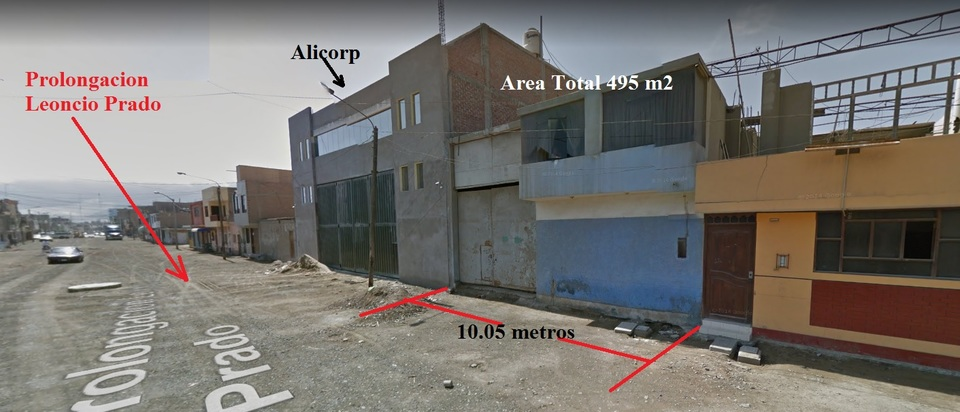 Venta de Local en Chimbote, Ancash 495m2 area total - vista principal