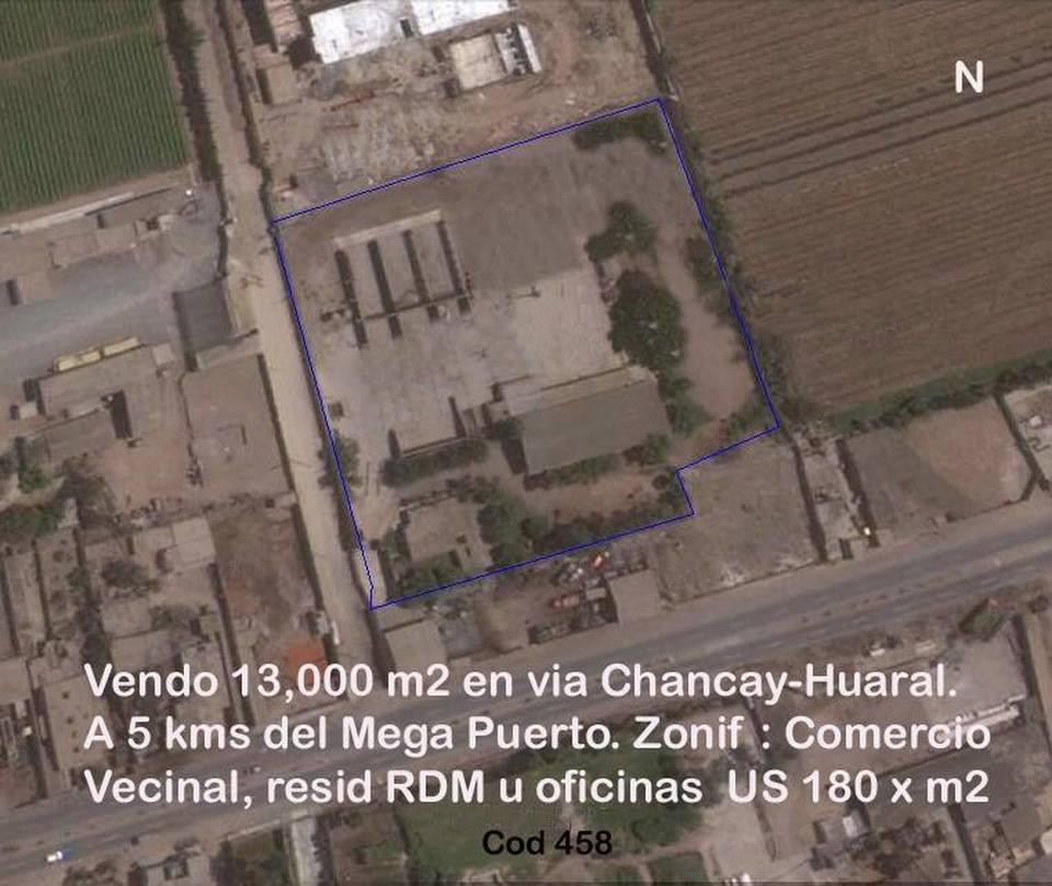 Venta de Terreno en Chancay, Lima - vista principal