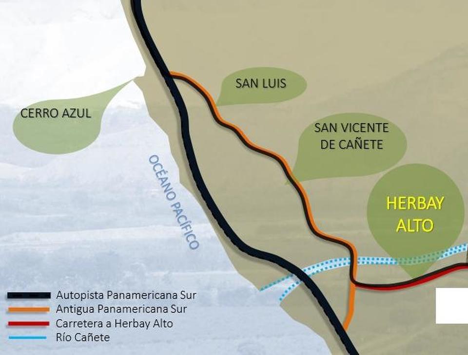 Venta de Terreno en San Vicente De Cañete, Lima - vista principal