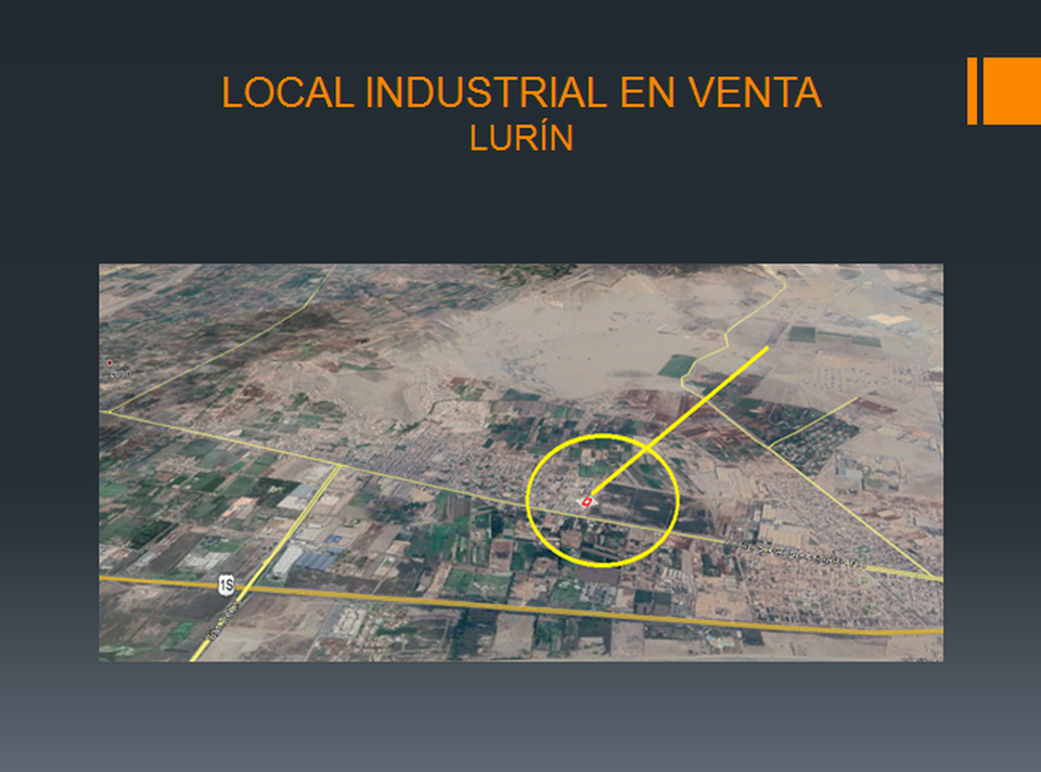 Venta de Local en Lurin, Lima 1920m2 area total - vista principal