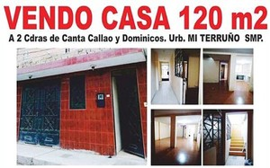Venta de Casa en San Martin De Porres, Lima con 3 dormitorios - vista principal