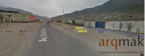 Venta de Terreno en Pachacamac, Lima 2000m2 area total - vista principal