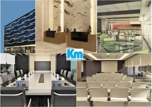 Venta de Oficina en Miraflores, Lima con sala de reuniones - vista principal