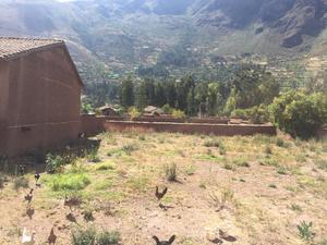Venta de Terreno en Calca, Cusco 1397m2 area total - vista principal