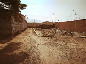 Venta de Terreno en Comas, Lima 377m2 area total - vista principal