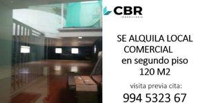 Alquiler de Local en Jesus Maria, Lima 120m2 area total - vista principal