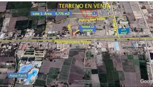 Venta de Terreno en Chiclayo, Lambayeque 4776m2 area total - vista principal