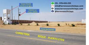 Venta de Terreno en Reque, Lambayeque 136200m2 area total - vista principal