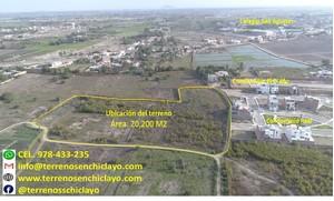 Venta de Terreno en Pimentel, Lambayeque 20200m2 area total - vista principal