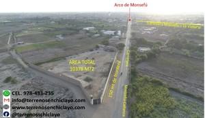 Venta de Terreno en Monsefu, Lambayeque 10378m2 area total - vista principal