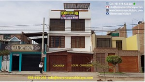 Venta de Casa en Chiclayo, Lambayeque con 3 dormitorios - vista principal