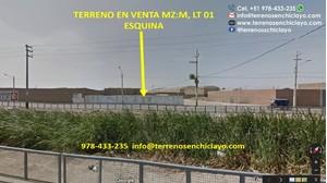 Venta de Terreno en Chiclayo, Lambayeque 388m2 area total - vista principal