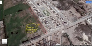Venta de Terreno en Pisco, Ica 90m2 area total - vista principal